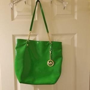 Michael Kors green purse